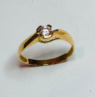 anillo de oro y diamantes 3