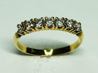 anillo de oro y diamantes 2